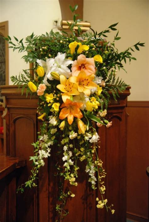 1 year memorial flowers paschal candle a year of flowers flower ideas