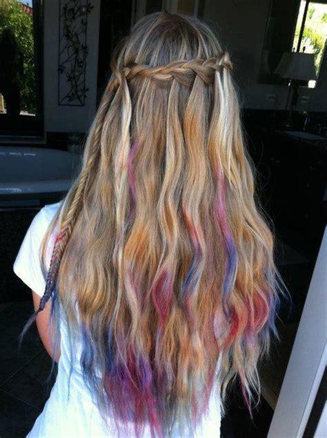 kool aid hair dye for dark hair kool aid hair dye long hair pinterest