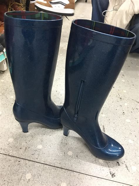 high heel rubber boots these amazing high heel rubber boots trashy