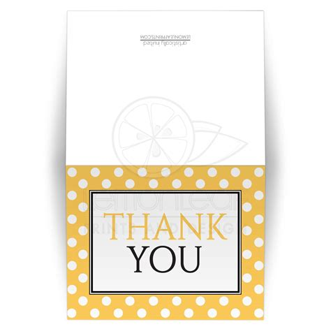 pattern of thank you card thank you cards polka dot yellow pattern