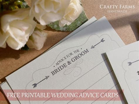 advice for and groom cards template wedding card malaysia crafty farms handmade freebie