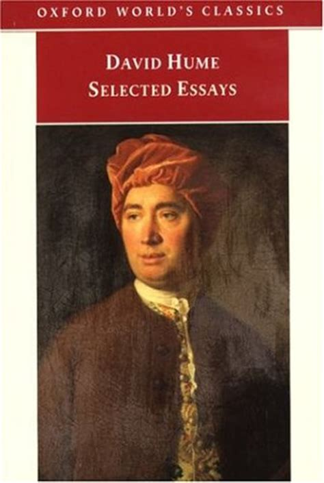 David Hume Essays by Selected Essays By David Hume Reviews Discussion Bookclubs Lists