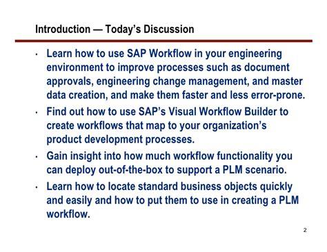learn sap workflow methods to leverage sap workflow