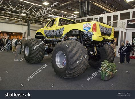 monster truck show birmingham birmingham england january 15 crusher monster truck