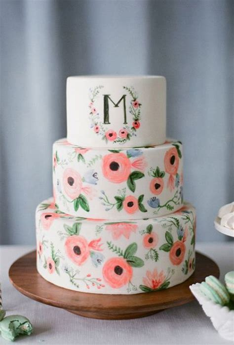More Whimsical Cakes To Impress by Best 25 Floral Wedding Cakes Ideas On
