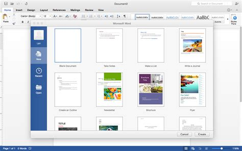 First Look Office 2016 Preview For Mac The Download Blog Cnet Download Com Word Templates For Mac