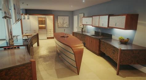 Innovative Countertops by Innovative Kitchens Curvaceous Countertops