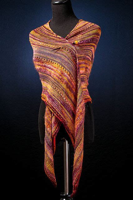 knitting pattern with name knitting pattern name long tail triangle shawl free
