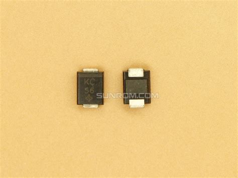 unidirectional tvs diode tvs diode 3v3 unidirectional smbj3 3a 4760 sunrom electronics