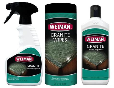 Granite Countertop Wipes by Weiman Granite Marble Solid Surface Countertop Cleaner