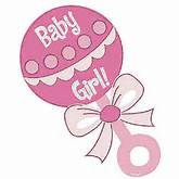 Download Baby Girl Rattle Clipart
