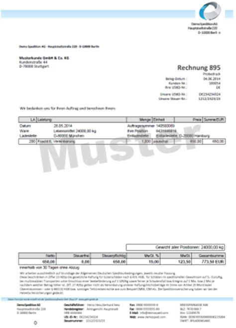 Muster Rechnungskorrektur Abrechnung Auch Gutschriftsverfahren