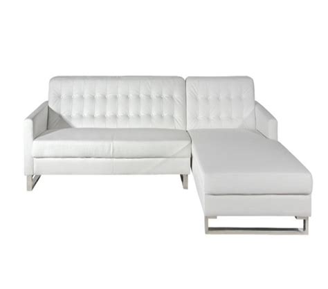 Modern Chaise Sofa Dreamfurniture 3308 Modern Sectional Sofa With Chaise