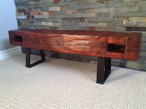 wood beam bench 72 best images about barn beam ideas on pinterest dog
