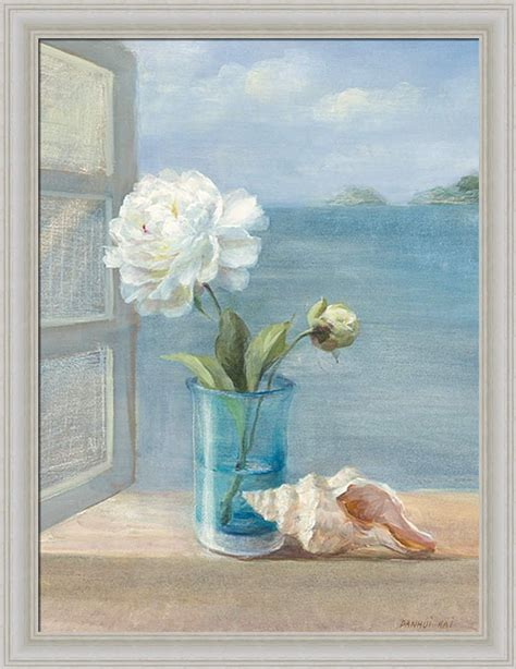 paintings for the bathroom review coastal floral i by danhui nai blue bath bathroom