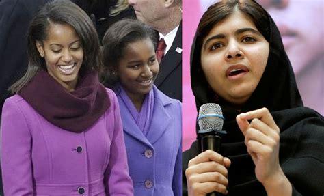 barack obama daughter malia time magazine most influential teens malala yousafzai