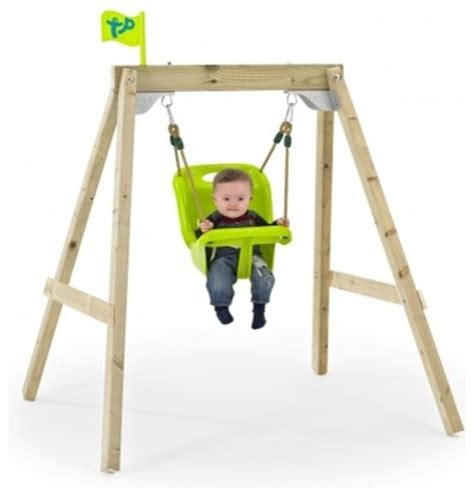 outdoor baby swing with frame new forest acorn growable swing frame with early fun