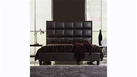 headboards leather king king size bed size modern bed with faux leather