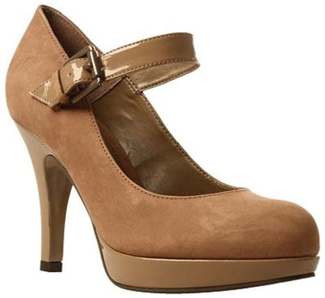 arabella shoes carvela arabella patent court shoes mid brown in brown lyst