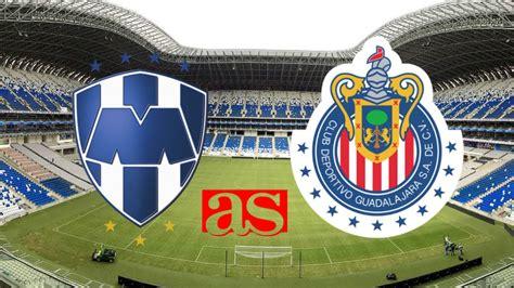 Calendario De Juegos Liga Mx Monterrey Rayados De Monterrey 2 2 Chivas Liga Mx Jornada 2 As