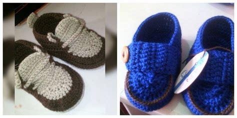 zapatos de varon tejidos zapatos para bebe tejido a crochet para varon bs 900