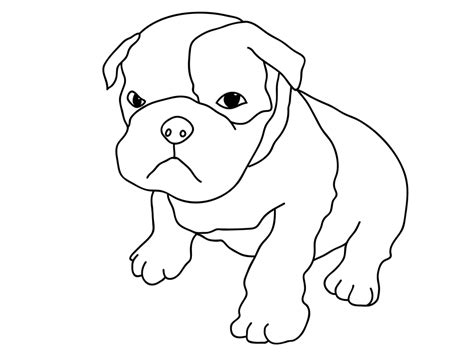 coloring pages of bulldog puppies puppy coloring pages best coloring pages for kids