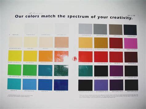 valspar auto paint color chart images