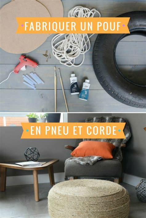 Pouf Avec Pneu Et Corde by Les 25 Meilleures Id 233 Es De La Cat 233 Gorie Pouf De Pneu De