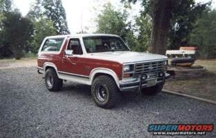 83 Ford Bronco 1983 Ford Bronco 83 Bronco Picture Supermotors Net