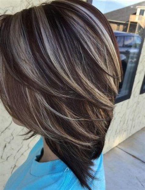 pics of platnium an brown hair styles platinum blonde and brown highlights www pixshark com