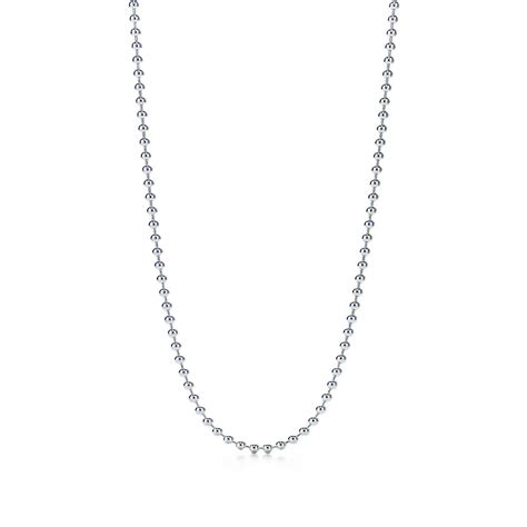 beaded chain for jewelry beaded chain necklace in sterling silver 18 quot