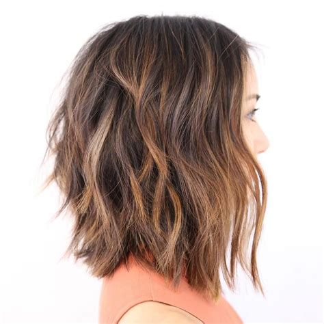 lob haircut thick hair 60 most beneficial haircuts for thick hair of any length