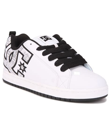 dc court graffik white sneaker casual shoes price in india