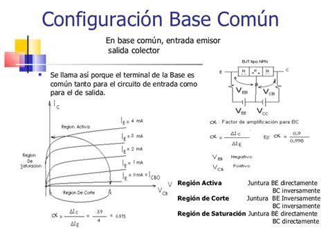 transistor bipolar base comum transistores