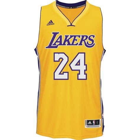 adidas nba la lakers bryant swingman mens basketball jersey purple gold sportitude