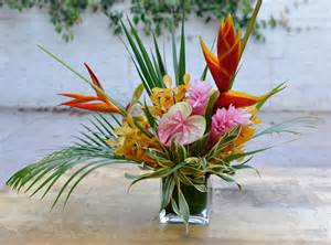 Bird Of Paradise Flower Arrangement Vase Mai Tai Floral Arrangement Blossom Alliance