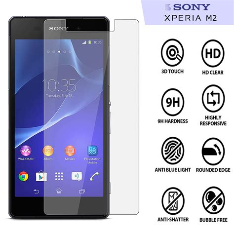 Tempered Glass Sony Xperia M5 usa tempered glass protector for sony experia m5 clear