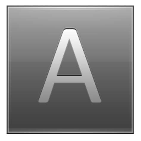 Letter Grey Letter A Grey Icon Multipurpose Alphabet Iconset Supratim Nayak