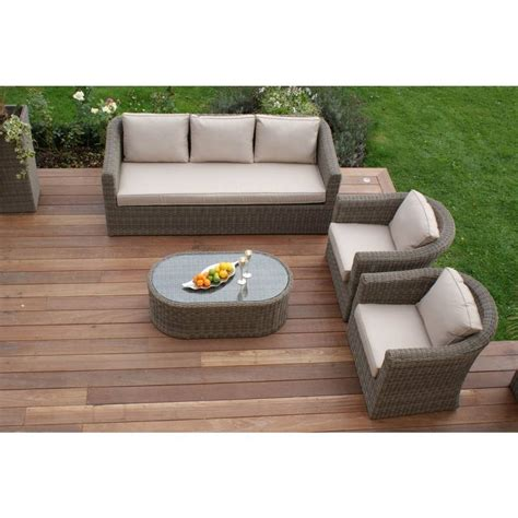 round sofa set round weave large sofa set by out there exteriors