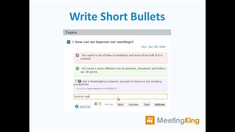 Make Fast While Meeting Insanely by Writing Meeting Minutes Easy And Fast With Meetingking