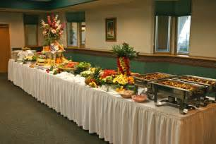 How To Set Up A Buffet Table For A Wedding Buffet Table Decorating Ideas House Experience