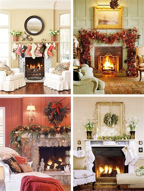 mantel decorating ideas 40 christmas fireplace mantel decoration ideas