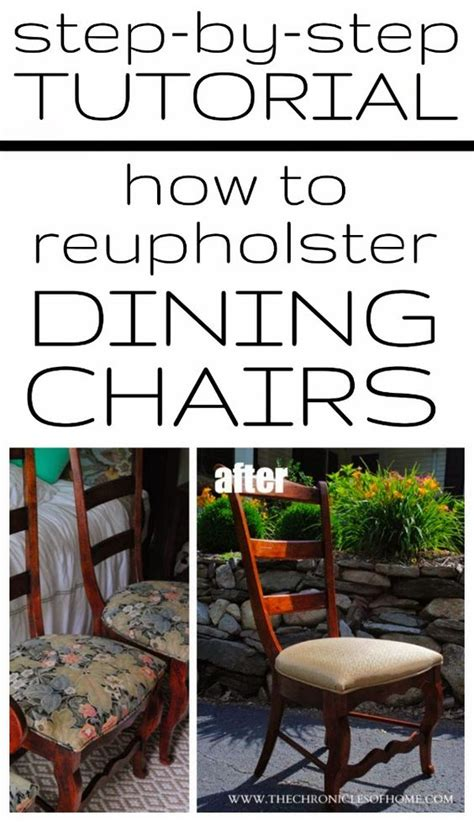 how to recover an armchair tutorial how to recover dining room chairs chairs
