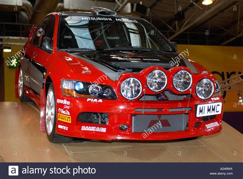 mitsubishi rally car mitsubishi lancer evo rally car autosport 2006 stock