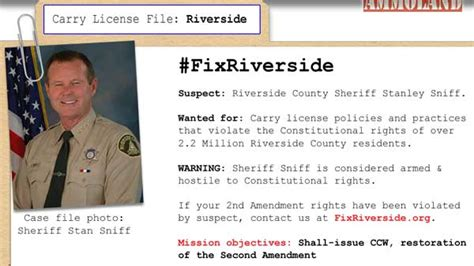 Riverside County Background Check Gun Groups To Riverside Ca Sheriff Start Granting Carry Permits Or Else
