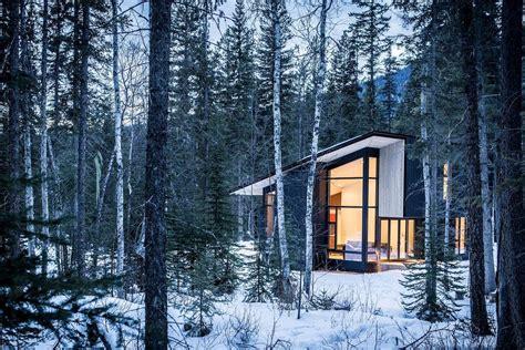 Ultramodern Cabin Creative Modernist Forest Sleek Modern Cabin In The Woods Enjoying A Luxury
