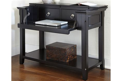 Dropdown Desk by Black Sofa Table With Drop Desk