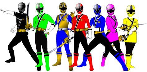 painting of power rangers samurai power rangers samurai for andr uril by rangeranime on