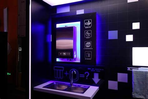 a smart bathroom and its latest technologies save power 4 home