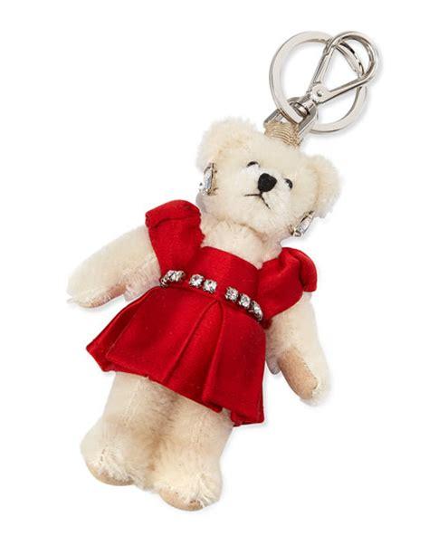 Tas Prada Teddy 5 prada teddy charm for handbag w dress fuoco neiman